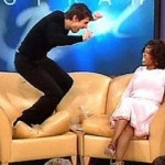 Everyone remembers the media fiasco after this Tom Cruise appearance on Oprah.