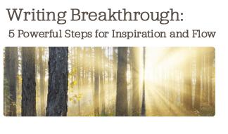 writing breakthrough