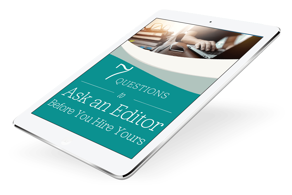 Ebook editing service